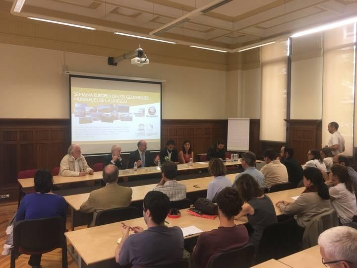 El Geoparque de la Comarca de Molina participa en la Semana de los Geoparques Europeos