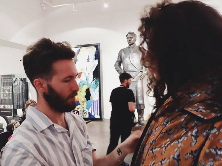 El marchamalero Juan Carlos Pajares sorprende en Georgia con la MBFW Madrid