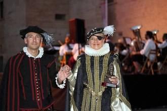 Almudena de Arteaga recibe en Pastrana el premio 'Princesa de Eboli'