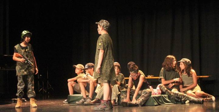 Brillante fin de curso en la Escuela de Teatro de Cabanillas