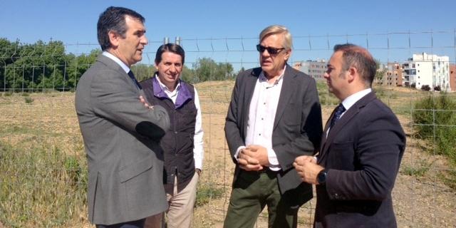 Comienzan las obras de los cuatro nuevos campos de fútbol de la Fuente de la Niña