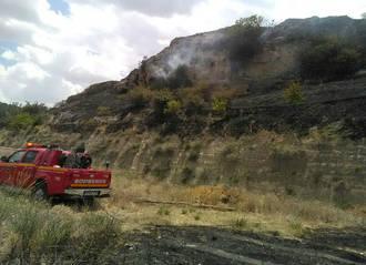 Se declara un incendio en Almoguera