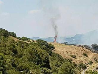 Controlado un incendio forestal declarado en Sacedón