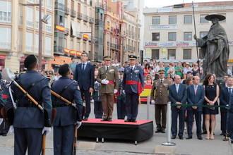 Guadalajara con su ayuntamiento a la cabeza preparada para el desfile del Día de las Fuerzas Armadas