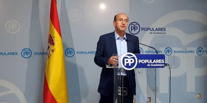 """""""El PP es el único que ha limitado los trasvases desde la cabecera del Tajo fijando una reserva mínima no trasvasable"""""""