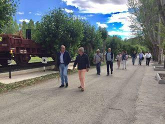 Latre asiste a la inauguración de una senda en el municipio de Baides
