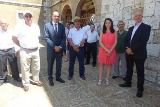 El presidente de la Diputación de Guadalajara participa en las fiestas de Gajanejos