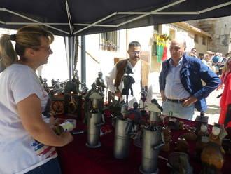 El presidente de la Diputación participa en la inauguración del 57º Festival Medieval de Hita