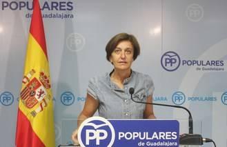 """Ana González: """"El mayor obstáculo para el progreso de Guadalajara y de Castilla-La Mancha se llama Emiliano García Page"""""""