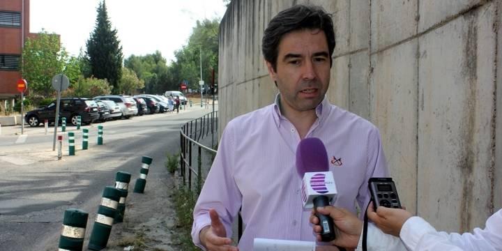 """Robisco: """"Page se está riendo de los guadalajareños con el estado en el que se encuentra el Hospital de Guadalajara"""""""