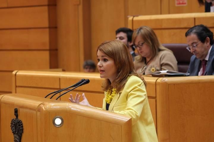 Marta Valdenebro pide en el Senado mejorar la tramitación de adopciones internacionales e impulsar la apertura de nuevas vías