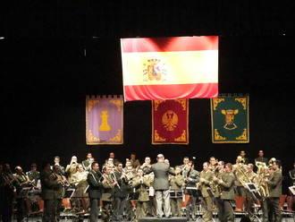 """Música militar """"INMEMORIAL DEL REY"""" Nº 1 en el TABV"""