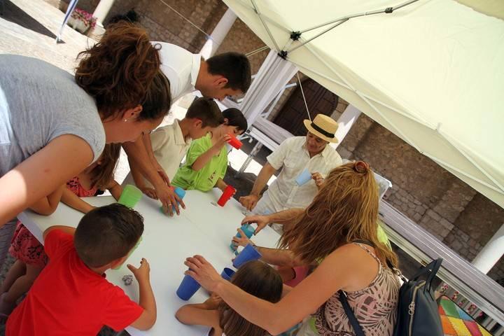 La cultura sale a la calle en Fuentenovilla