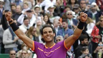 Rafa Nada gana su décimo Masters de Montecarlo