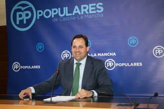 """Núñez lamenta que """"los líos internos de Page en el PSOE perjudican a Castilla-La Mancha, que está bloqueada"""""""