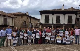 NNGG de Guadalajara rinde homenaje a Miguel Ángel Blanco en la III Escuela de Verano, que se celebra en Atienza