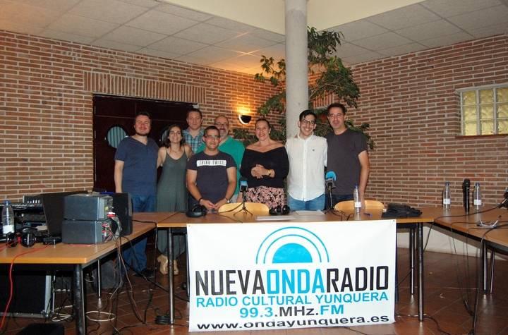 """Yunquera disfrutó de una gran noche de radio en directo con """"Dimensión Limite"""" para celebrar los 70 años de OVNIs"""