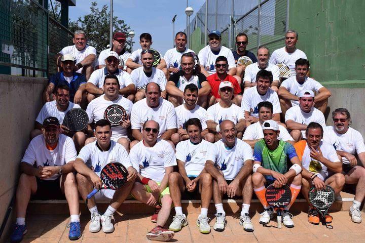 Angel Abad e Ismael Diéguez se imponen en el Torneo de Padel de Quer