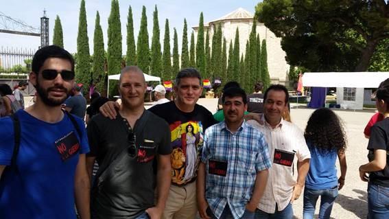 Presencia Federal y Regional de IU en el Acto Contra la Guerra en Guadalajara