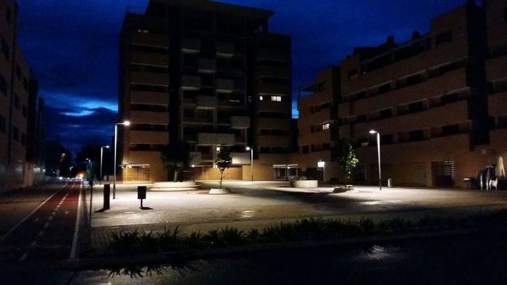 Más iluminación LED en Valdeluz para ahorrar energía