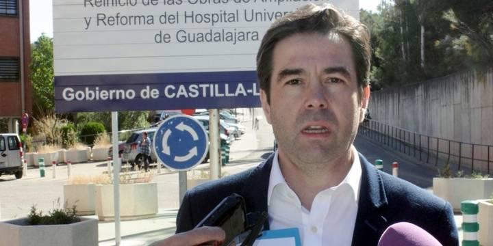 """Robisco: """"Page está engañando a Guadalajara con las obras de ampliación del Hospital y a este ritmo tardarán 30 años en estar finalizadas"""""""