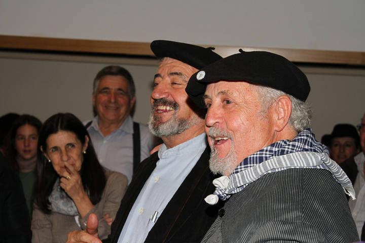 Tamajón acompañó a Valentín Pérez en su distinción por la Fundación Siglo Futuro