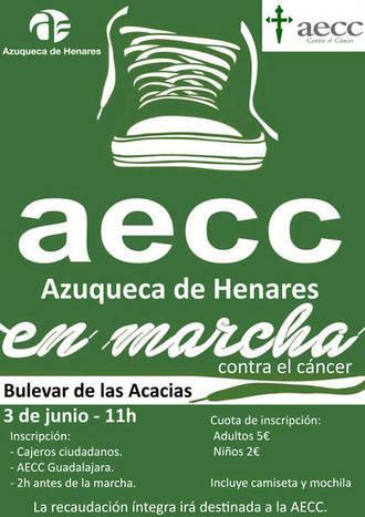 Abierta la inscripción en la carrera 'En marcha contra el cáncer' de Azuqueca