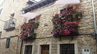 En busca del balcón más bonito de Sigüenza