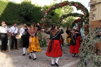Llegan los Arcos de San Juan, original y ancestral celebración seguntina de la llegada del verano