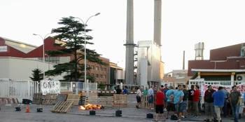 Nueva huelga en Bormioli Rocco, esta vez por 'falta de seguridad y extremas temperaturas'
