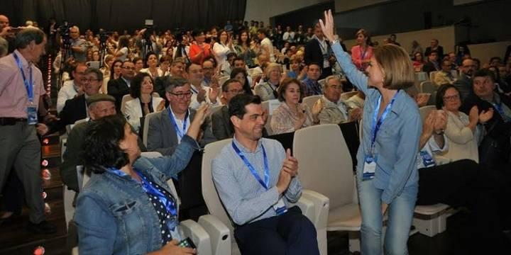 """Cospedal asegura que """"el PP ofrece soluciones y tiene un proyecto para Castilla-La Mancha"""""""