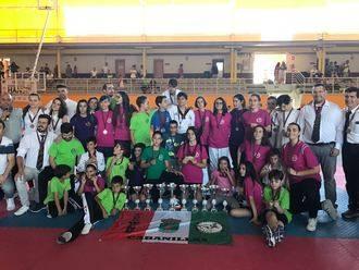 Gran fin de semana de taekwondo en Cabanillas del Campo