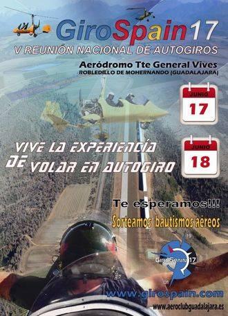 El aeródromo de Robledillo acogerá la V Reunión Nacional de Girociclos