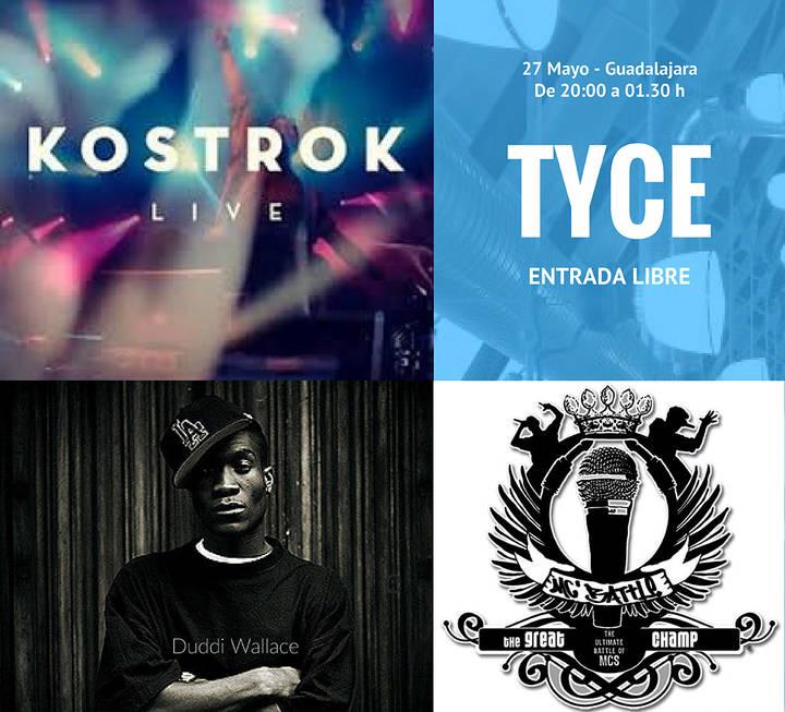 El Microfest lleva la cultura hip-hop y el rap al Espacio Tyce