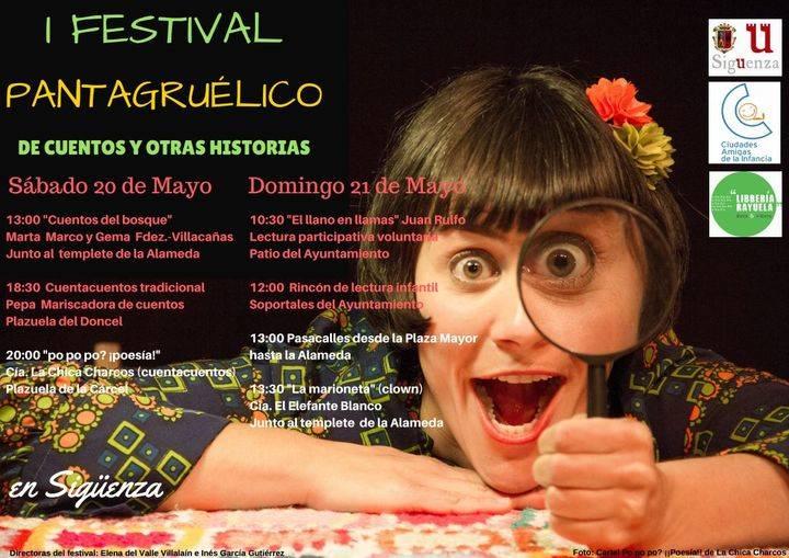 Este fin de semana, I Festival Pantagruélico de Cuentos y Otras Historias en Sigüenza