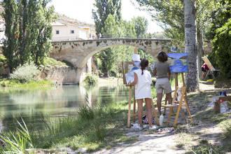 Libros, música, pintura y folklore protagonizan las más de 50 actividades pensadas para disfrutar del verano en Trillo