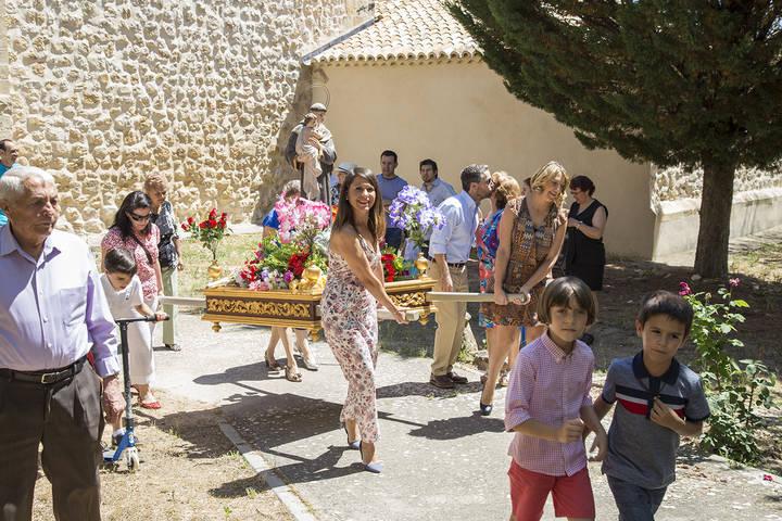 Los tostones y los roscos volvieron a Viana, La Puerta y Azañón por San Antonio