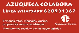 Las quejas al Ayuntamiento de Azuqueca también pueden llegar por 'Whatsapp'