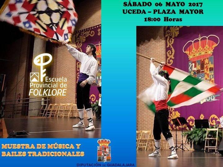 Muestra de música y bailes tradicionales de la Escuela de Folklore de Diputación en Uceda