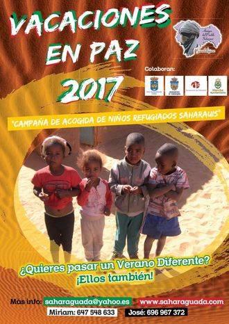 Todavía hacen falta 10 familias para que niños saharauis puedan tener sus 'Vacaciones en paz' en Guadalajara