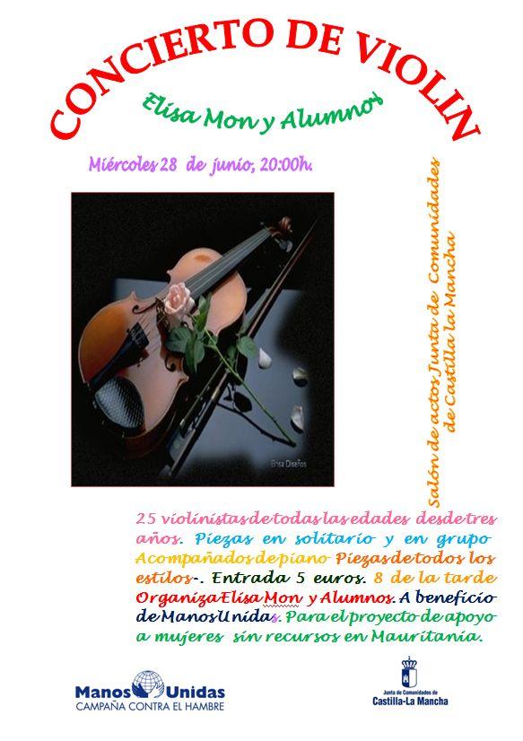Manos Unidas organiza en Guadalajara su concierto solidario de primavera