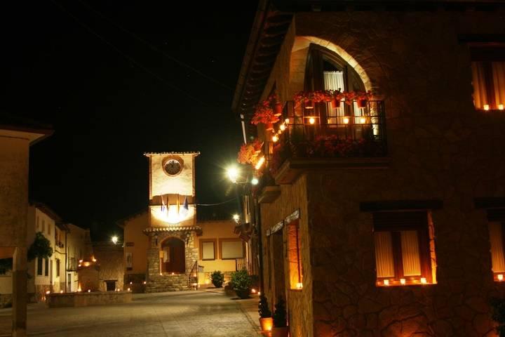 'A la luz de las velas' se convierte en un nuevo reclamo turístico de Arbancón