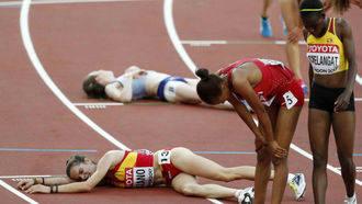 La alcarreña Ana Lozano se queda sin final en los Mundiales de Atletismo pero con plusmarca personal