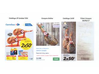 Asaja Cuenca denuncia a Carrefour por la venta a pérdidas en jamón curado