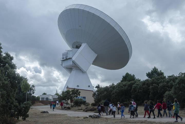 El Aula Municipal de Astronomía de Yebes supera los 25.000 visitantes en esta quinta temporada
