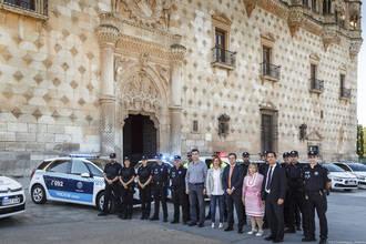 La Policía Local de Guadalajara ya cuenta con siete nuevos vehículos