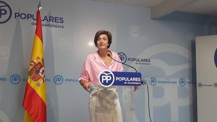 """Ana González: """"Page intenta silenciar al PP pasando el rodillo al más puro estilo de la extrema izquierda"""""""