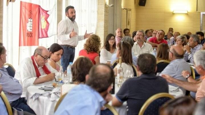"""El rival de Page, Jose Luis Blanco en Albacete : """"La militancia del PSOE de Castilla-La Mancha quiere urnas para poder elegir libremente"""""""