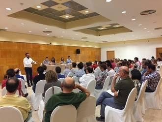 Blanco suma y sigue : Militancia de las plataformas socialistas de Ciudad Real apuestan por un proyecto alternativo a Page