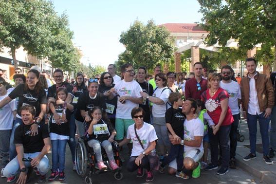 """Cabanillas disfruta de una brillante jornada de deporte solidario en un emocionante """"Duatlón Caminando por la Inclusión"""""""